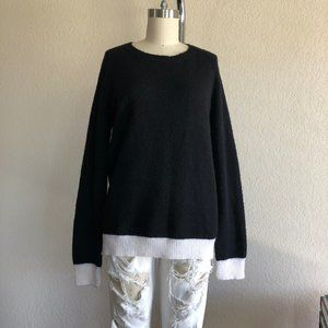 A.L.C. Colorblock Sweater Crewneck